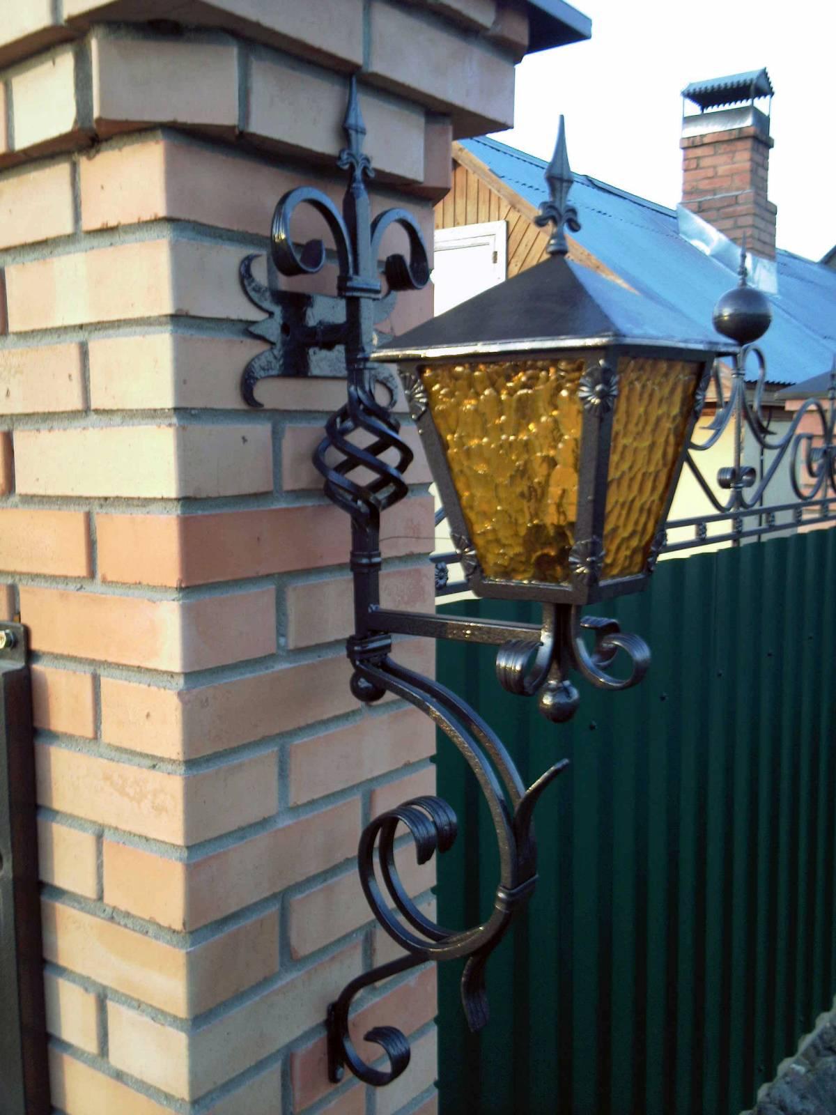 Уличные светильники для загородного дома своими руками фото 22